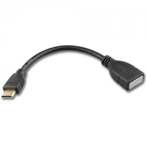 Adapter Mini HDMI Type-C Male -  HDMI Type-A Female Keple , 15 cm
